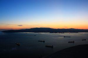 Oceano Gibilterra Spagna Uk