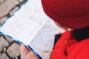 Le mappe fra le app viaggi preferite.