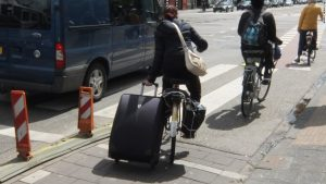 Dutch bike luggage
