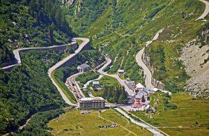 Furka Pass Svizzera