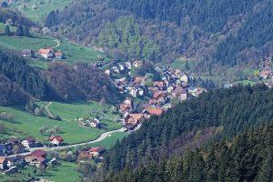 Routeb500 Schwarzwaldhochstrasse Germania