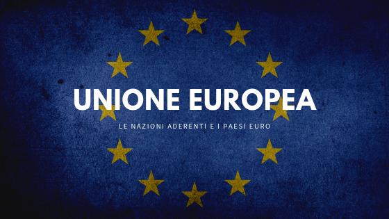 Comunità europea e i paesi euro