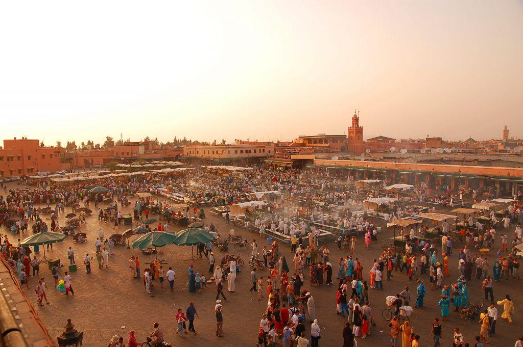 Maroc Marrakech Jemaa El Fna Luc Viatour