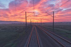I tramonti dell'Europa in treno