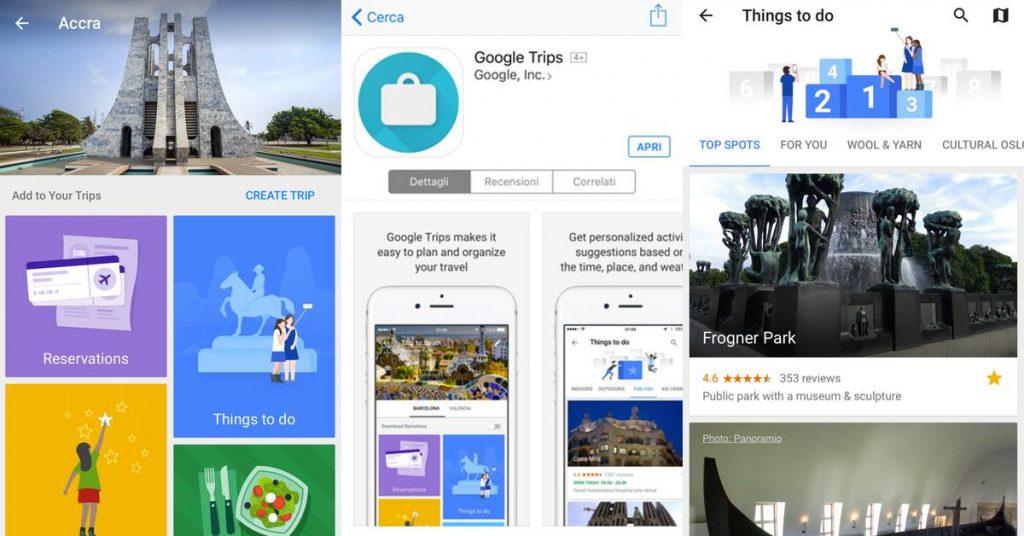 Google Trips Familytravelblogger