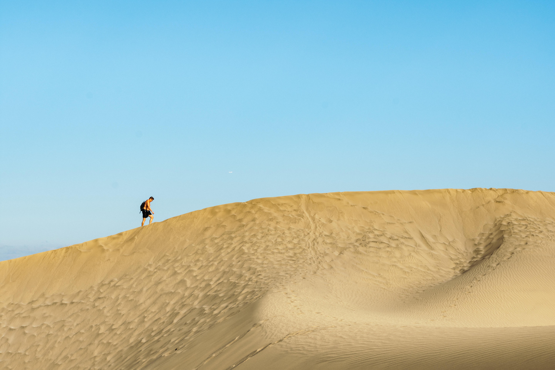 Le dune di Maspalomas sono una attrazione da visitare a Gran Canaria