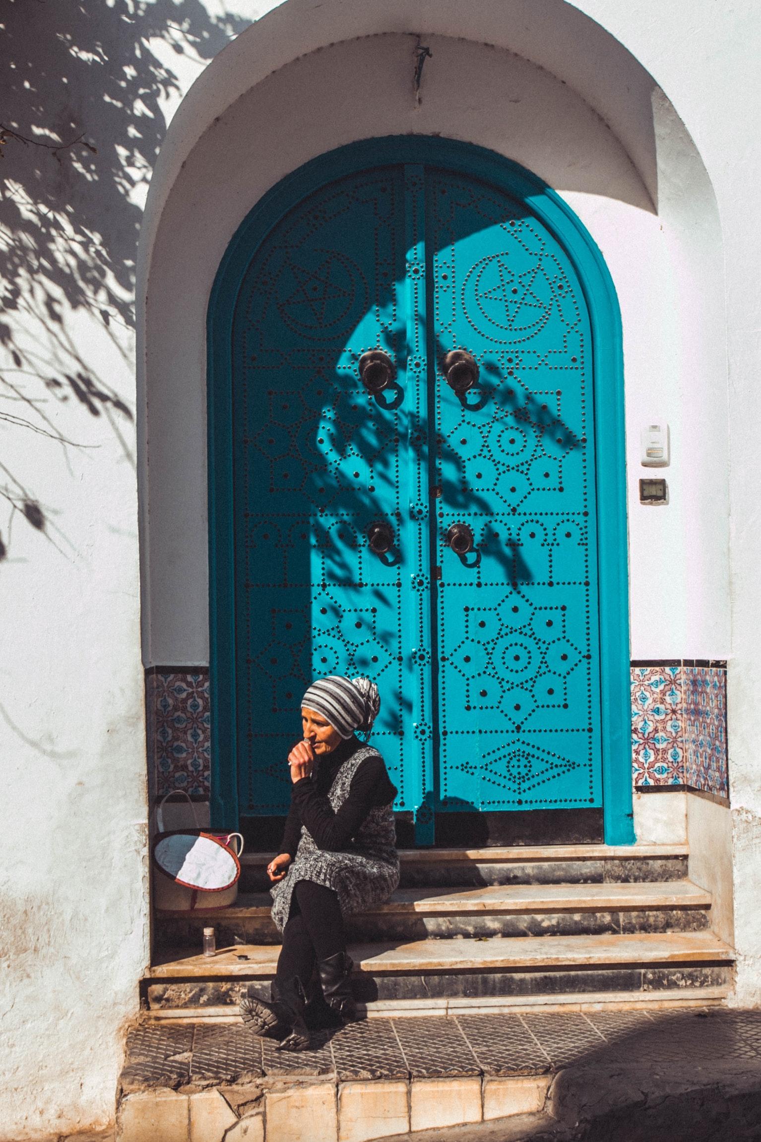 Scoprire la Tunisia in viaggio visitando Sidi Bou Said