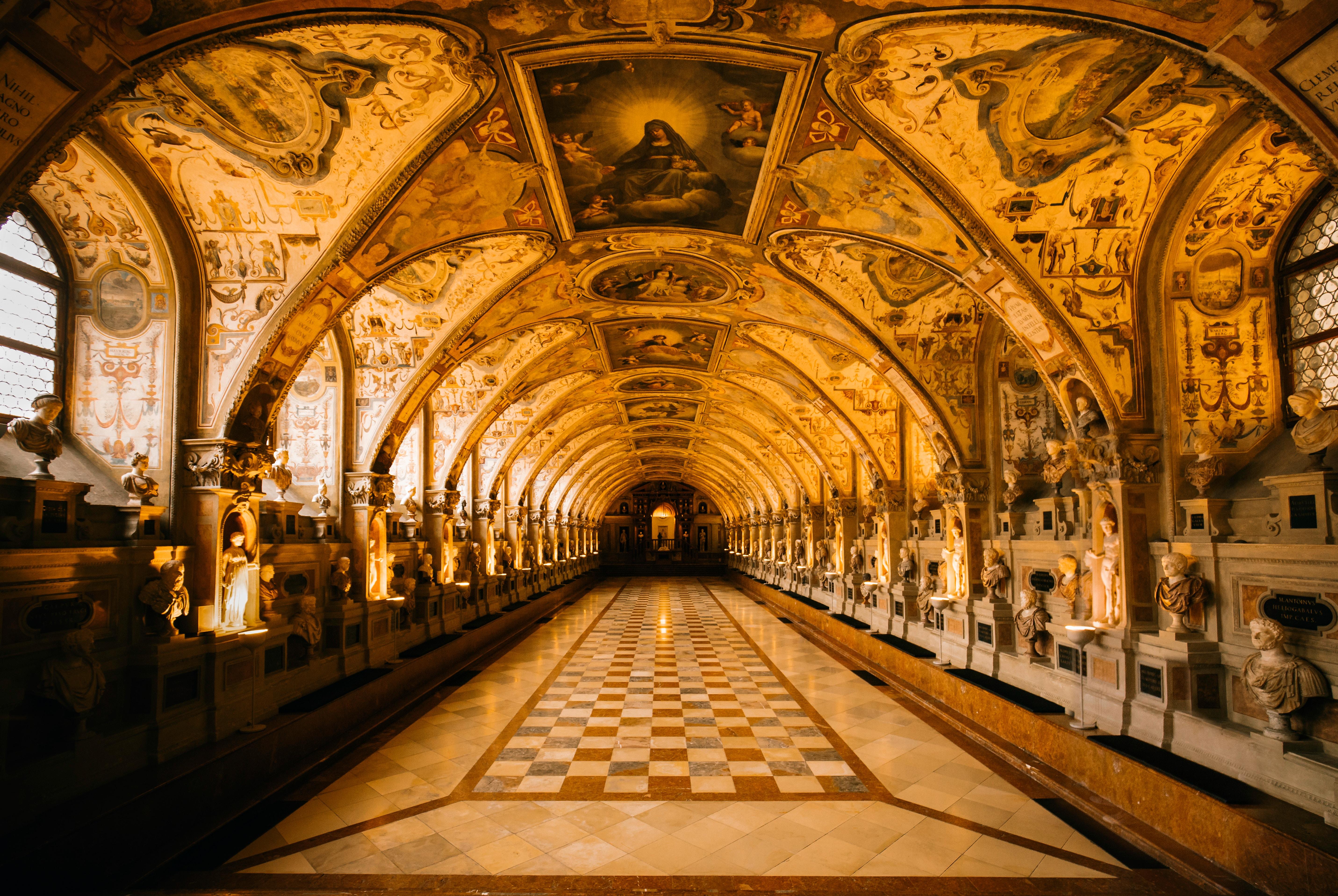 Il Palazzo Reale di Monaco di Baviera va assolutamente visitato: certamente una cosa da fare in città.