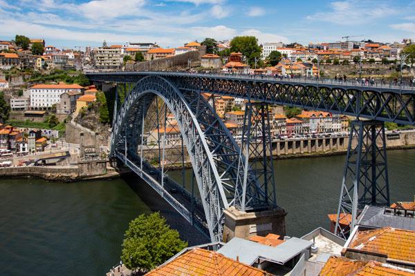 Mappa Del Partogallo Porto