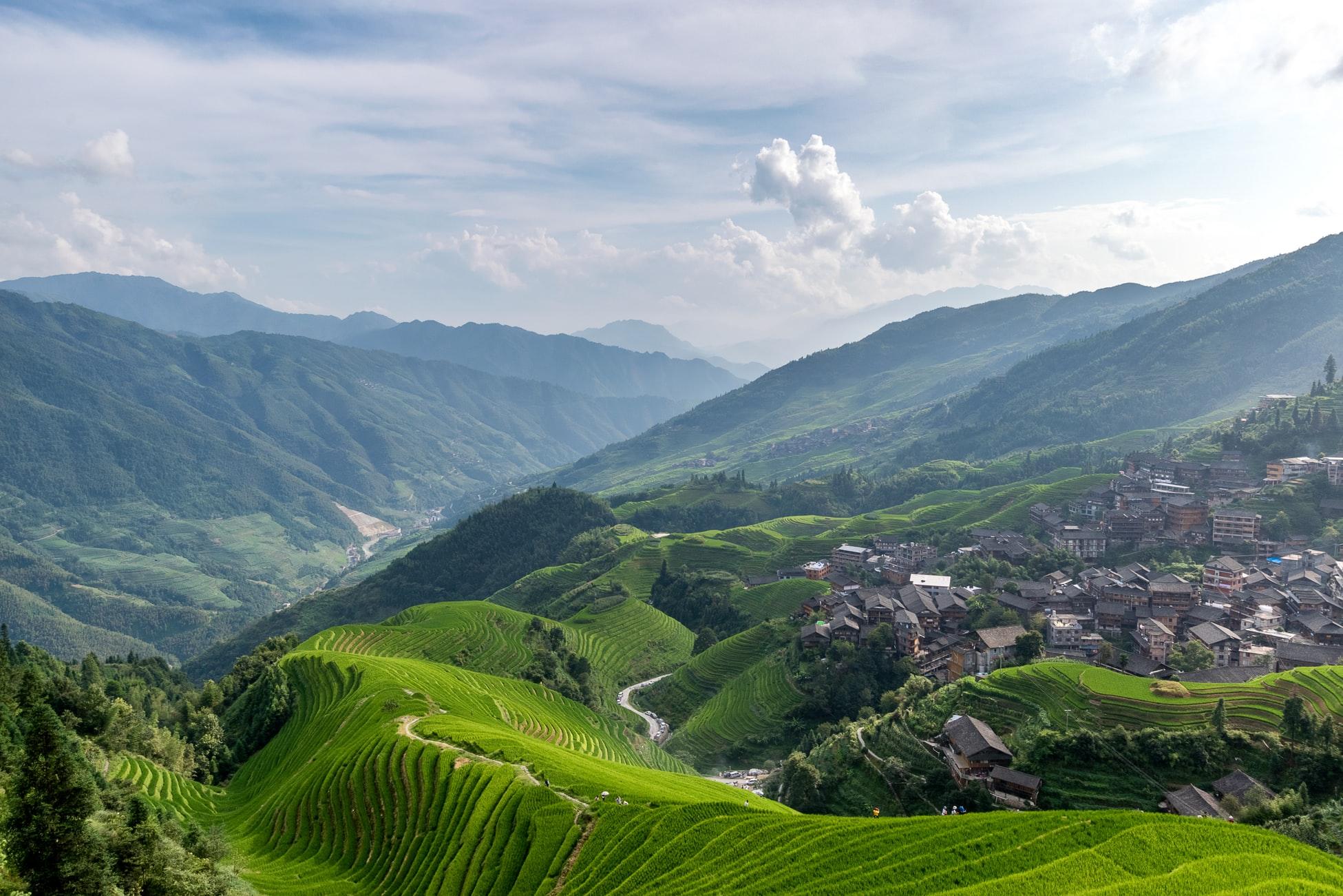 Le risaie di Longji nei pressi di Guilin