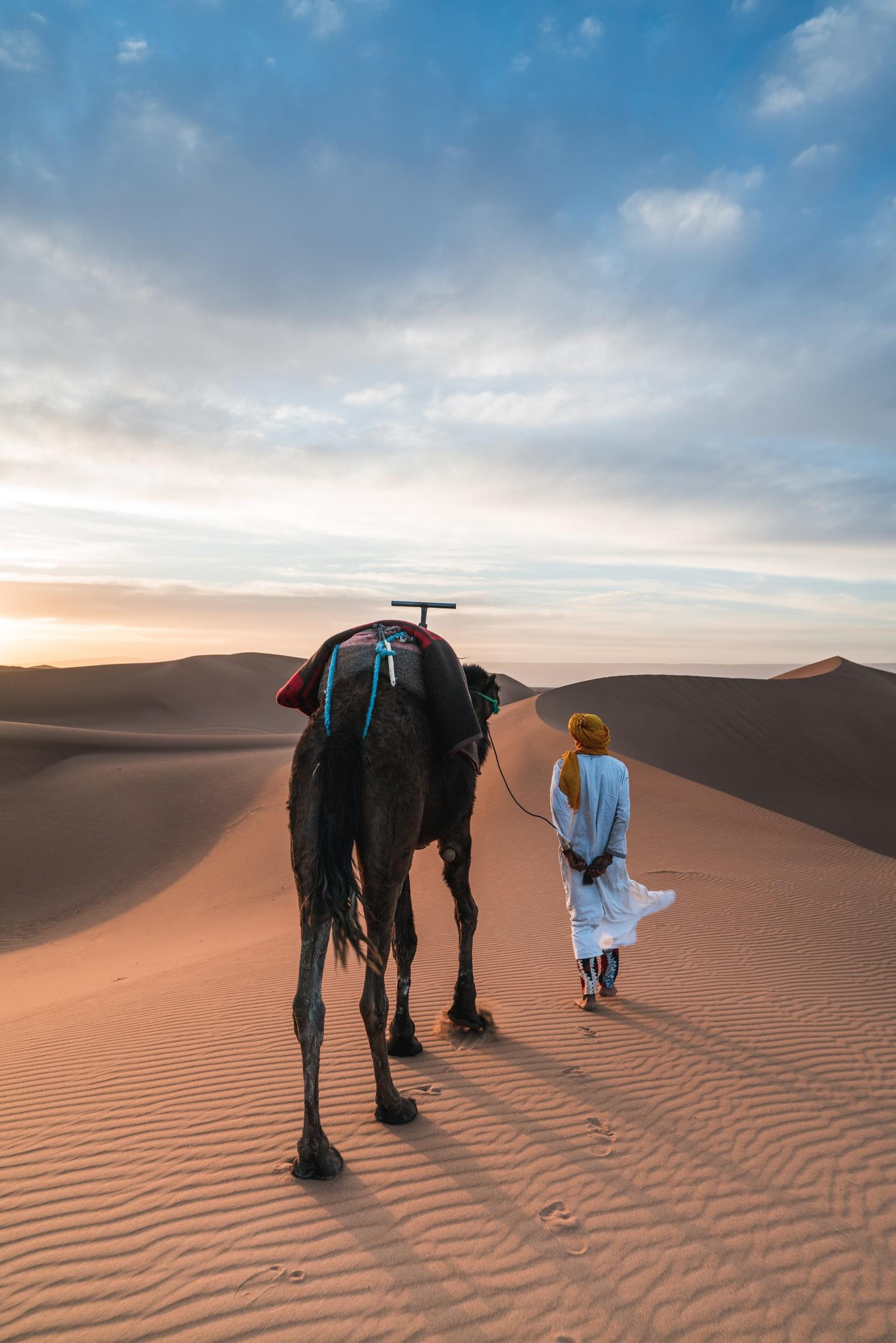 Nulla di meglio che esplorare il Sahara durante un viaggio in Marocco