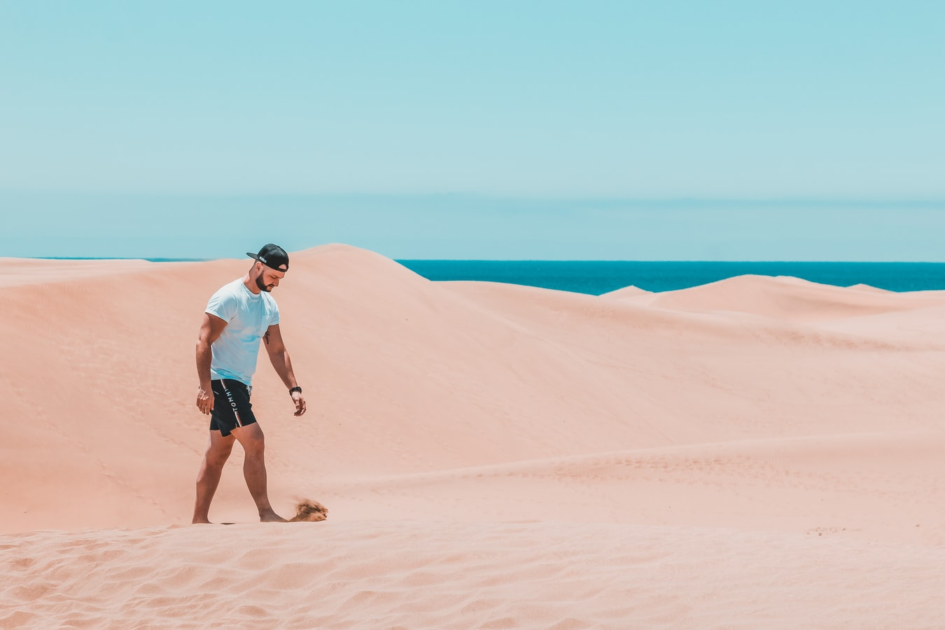La playa de Maspalomas, nel sud di Gran Canaria