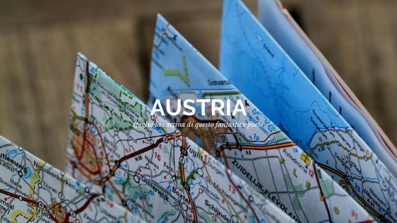 Scopri la cartina dell'Austria con tutti i punti più importanti e luoghi di interesse