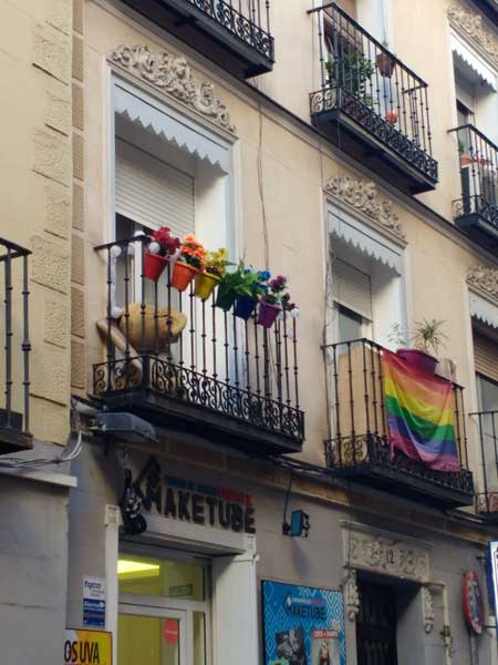 Viaggiare A Madrid Barrio De Chueca