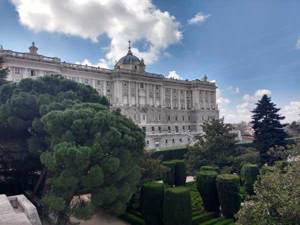Viaggiare A Madrid Giardini Di Sabatini