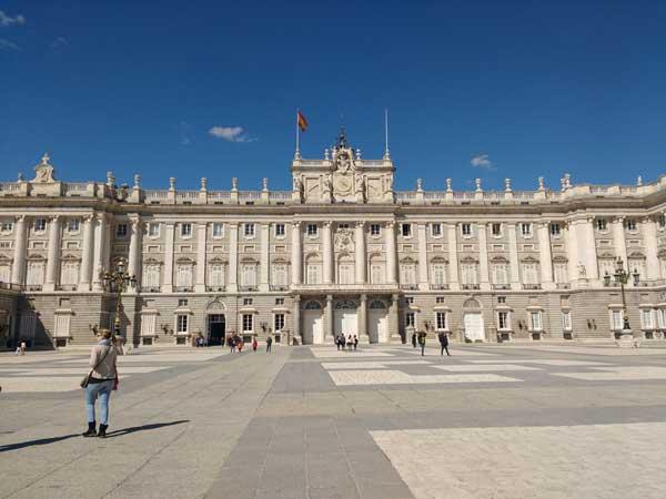 Viaggiare A Madrid Palacio Real