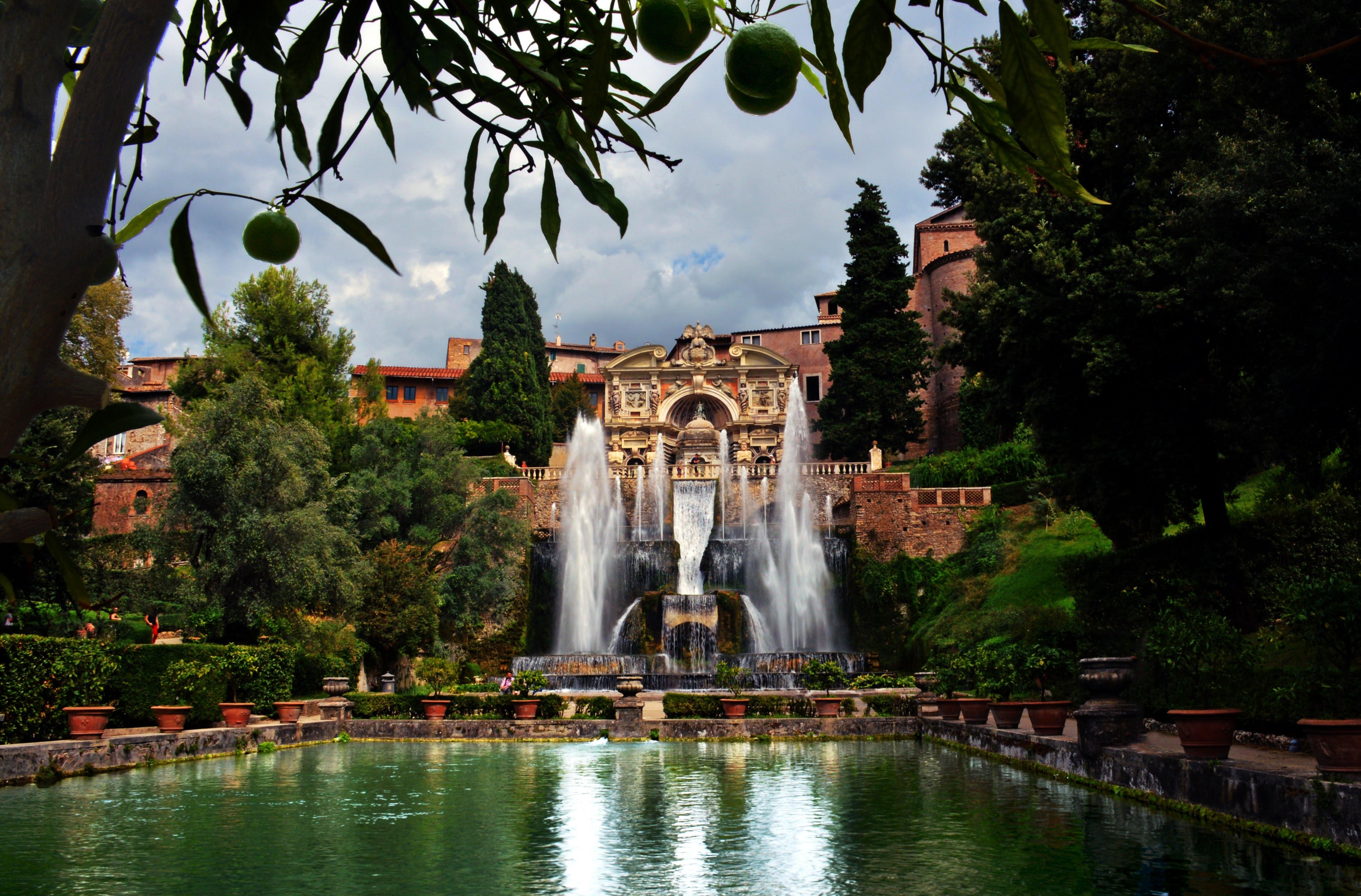 La Villa d'Este a Tivoli è da visitare nel Lazio