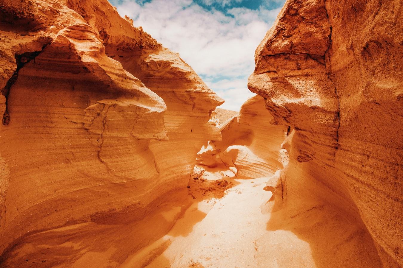 Il deserto a Fuerteventura