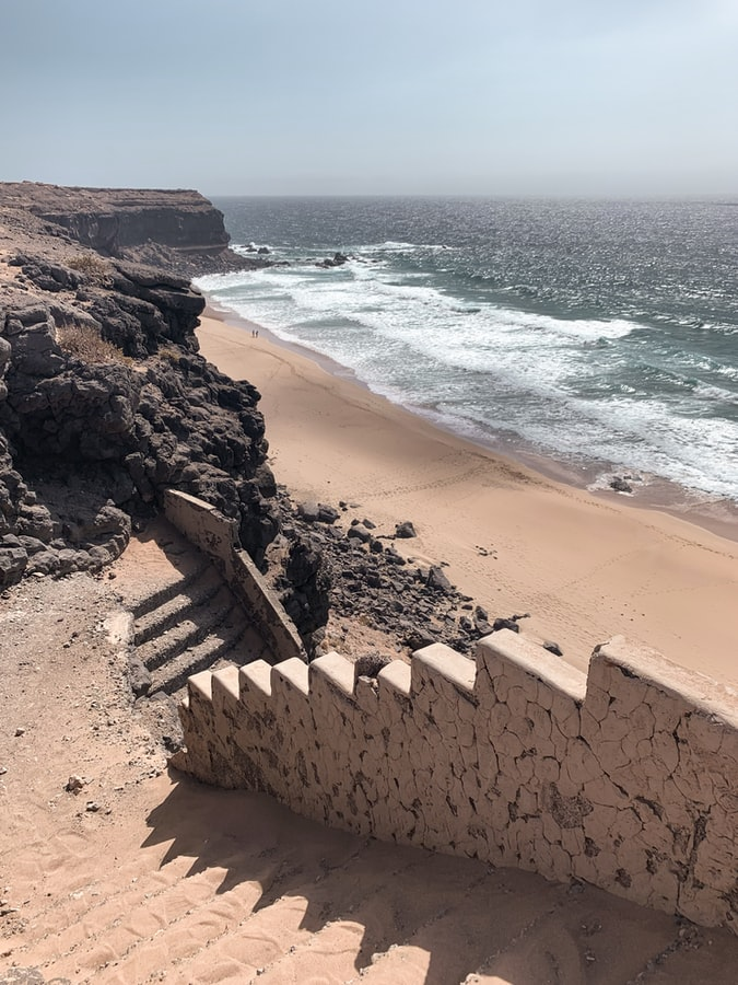 Il mare a Fuerteventura