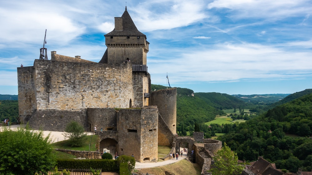 Castelnaud: uno dei più belli castelli di Francia