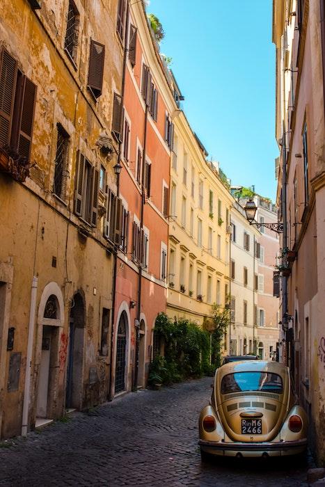 Rione Trastevere a Roma