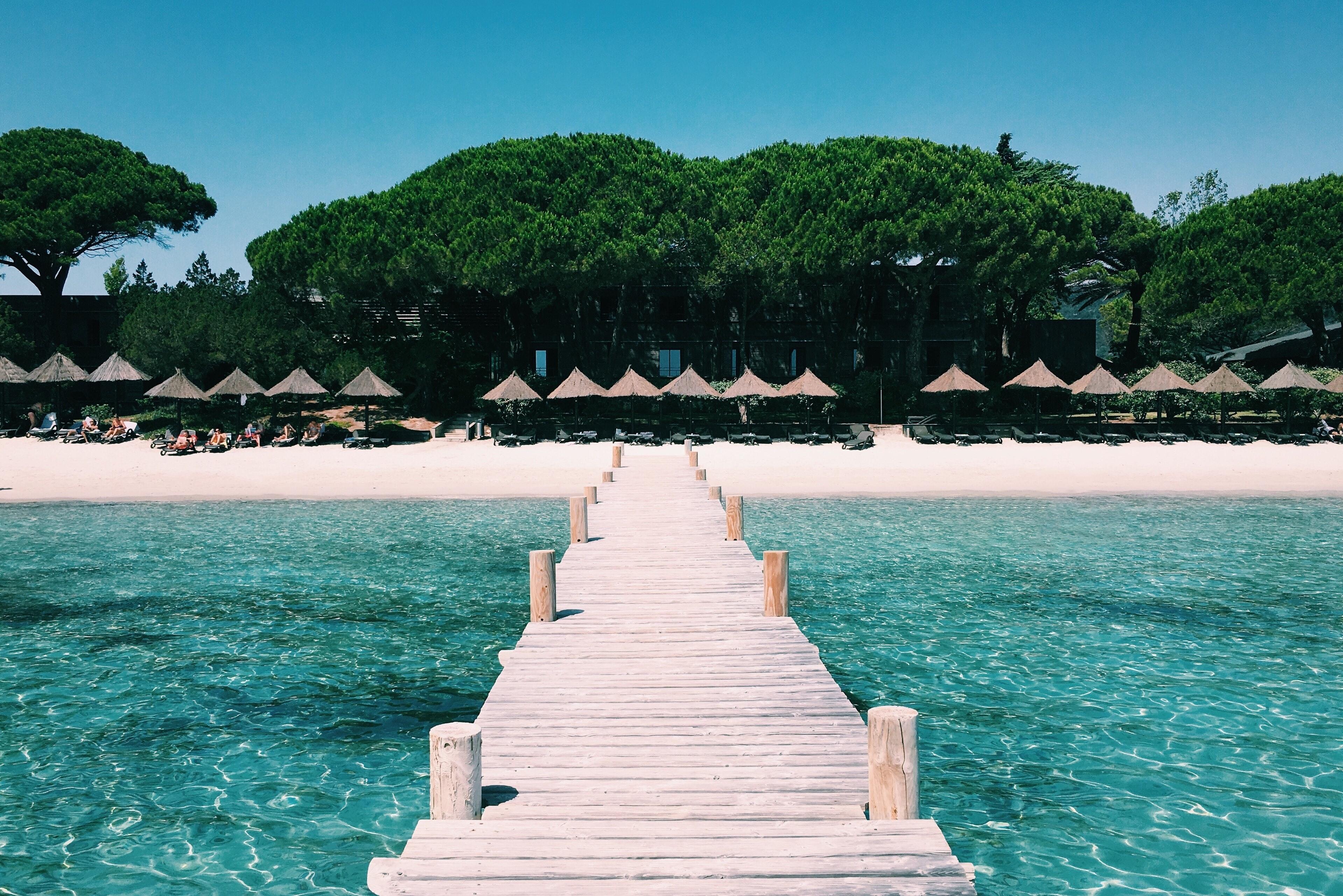 La plage Palombaggia fra le migliori spiagge di Francia